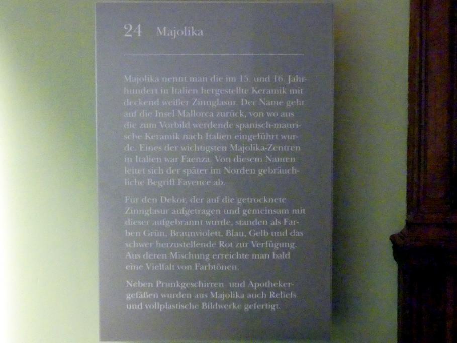 München, Bayerisches Nationalmuseum, Saal 24, Bild 2/2