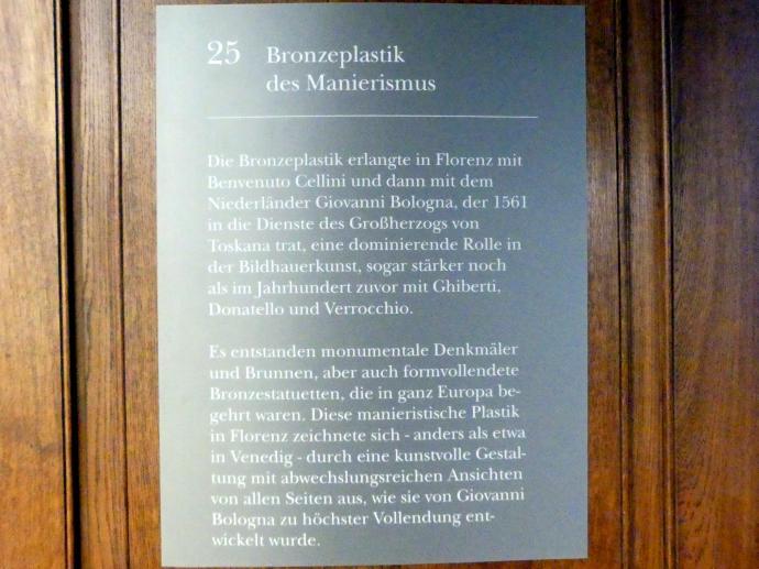 München, Bayerisches Nationalmuseum, Saal 25