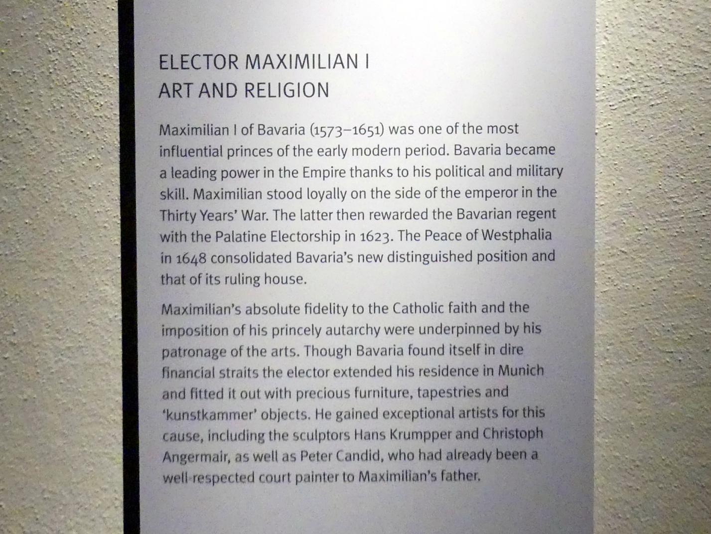 München, Bayerisches Nationalmuseum, Saal 31, Bild 3/4