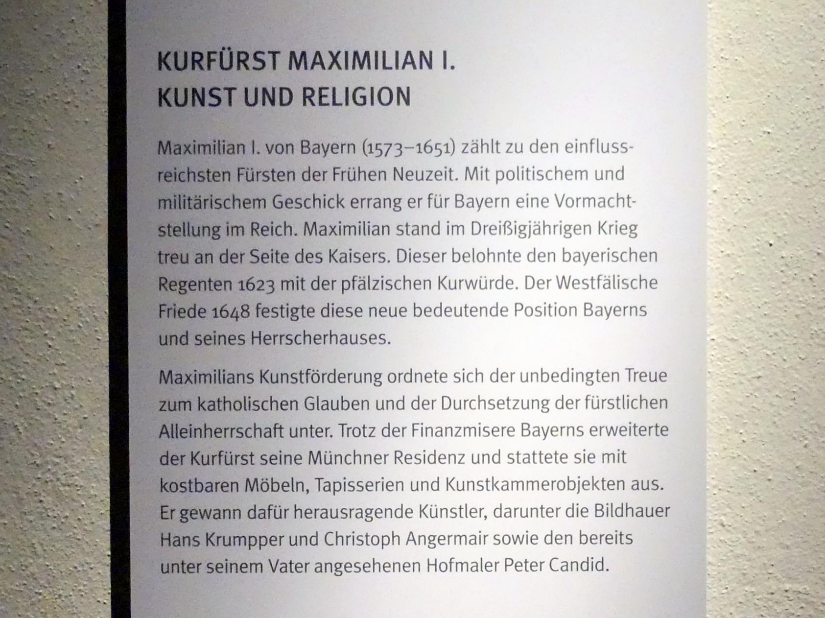 München, Bayerisches Nationalmuseum, Saal 31, Bild 4/4