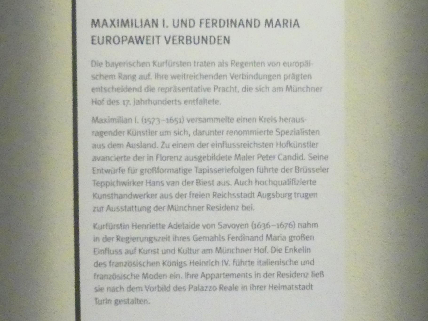 München, Bayerisches Nationalmuseum, Saal 32, Bild 5/5