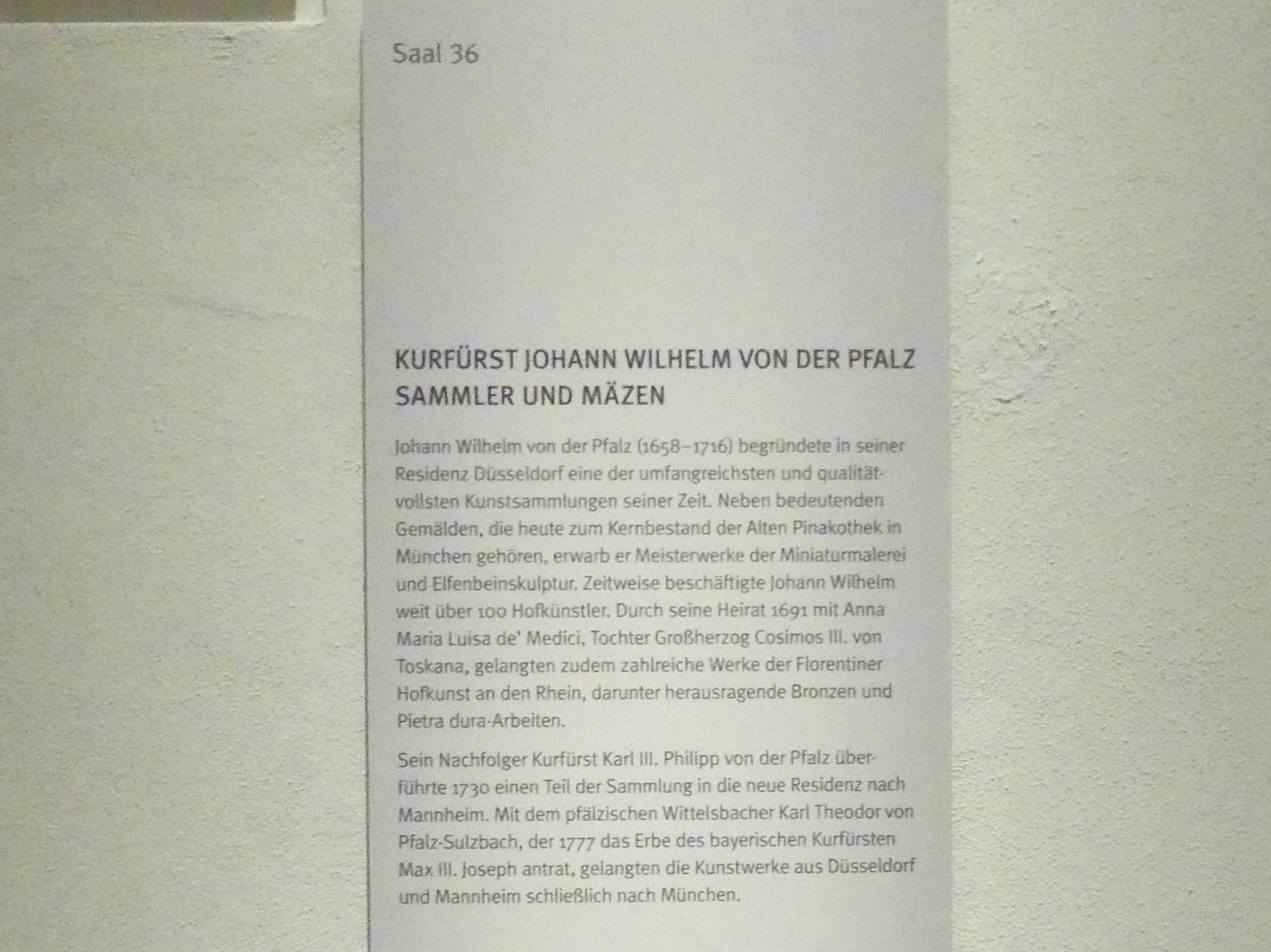 München, Bayerisches Nationalmuseum, Saal 36, Bild 4/4