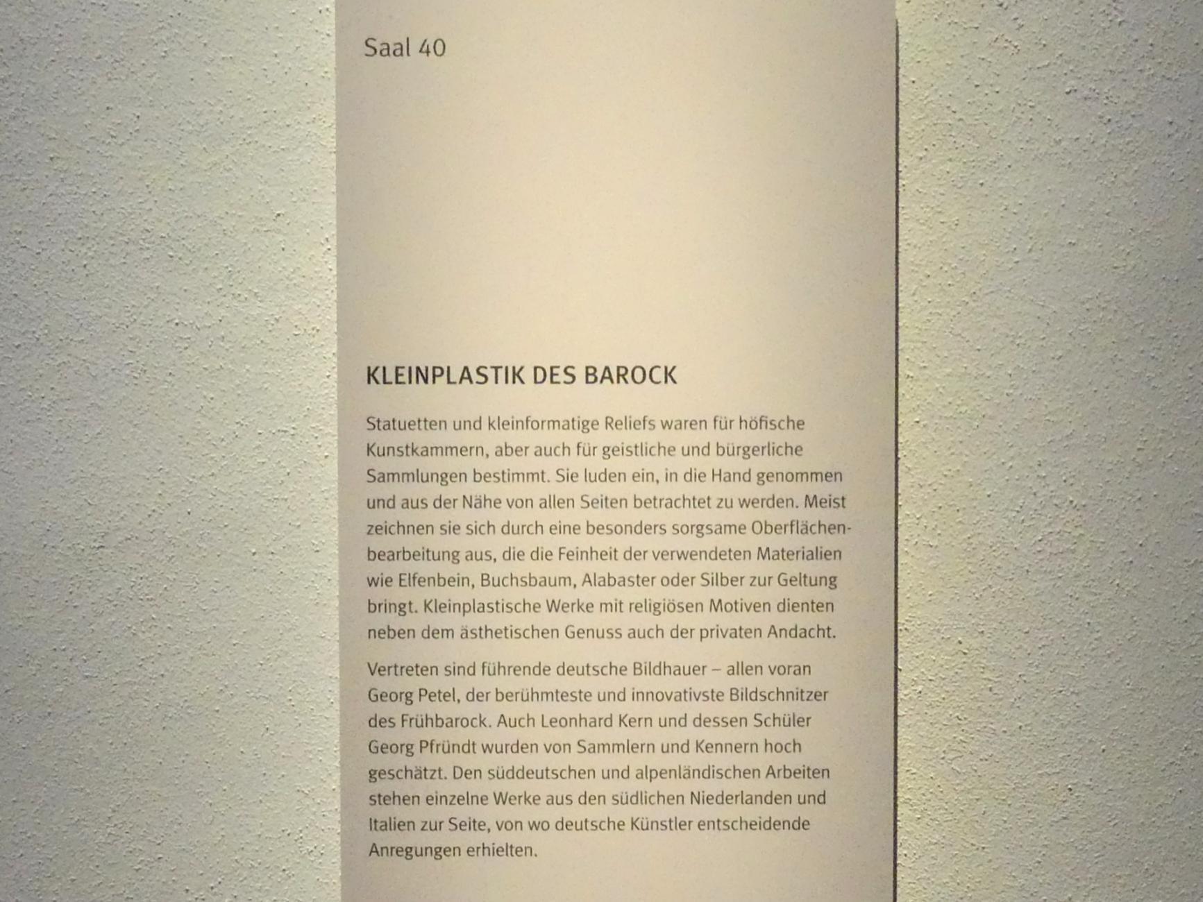 München, Bayerisches Nationalmuseum, Saal 40, Bild 5/5