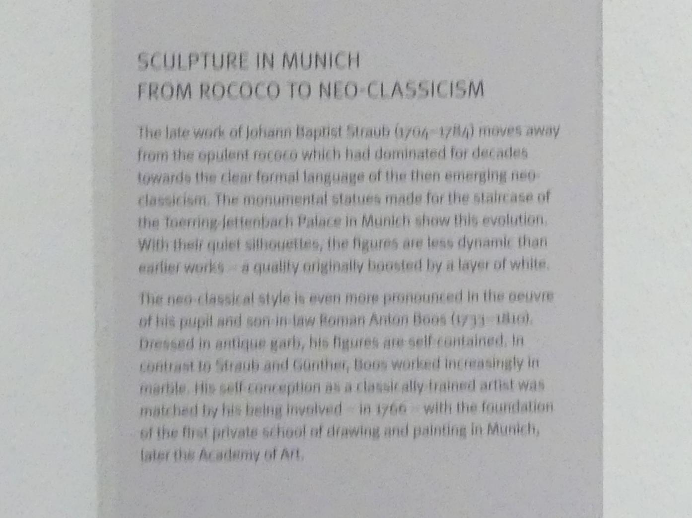 München, Bayerisches Nationalmuseum, Saal 43, Bild 2/3