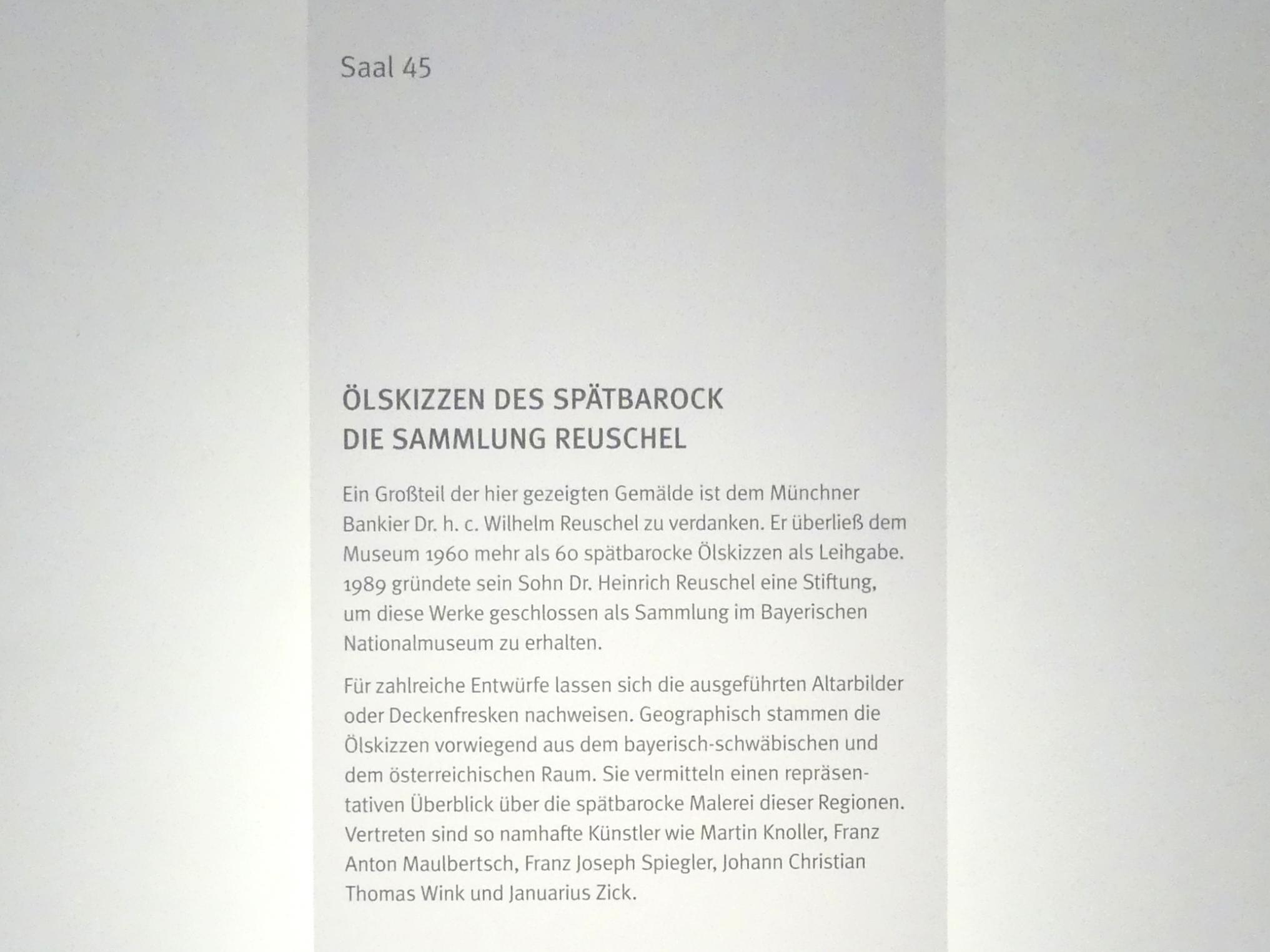 München, Bayerisches Nationalmuseum, Saal 45, Bild 4/4