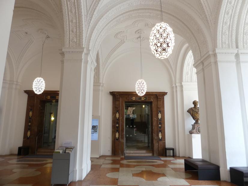 München, Bayerisches Nationalmuseum, Eingangshalle