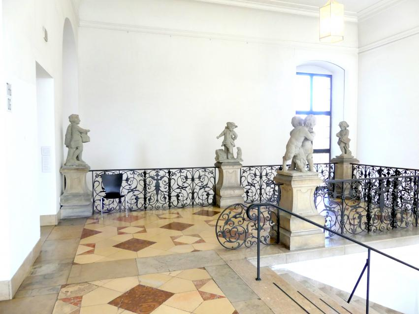 München, Bayerisches Nationalmuseum, Treppenhaus