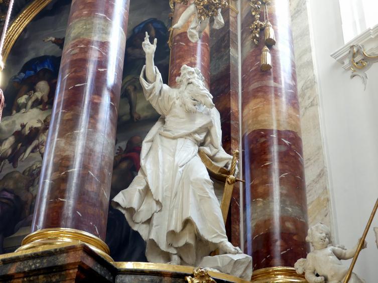 Ignaz Günther: Statue des heiligen Paulus am Hochaltar, 1765