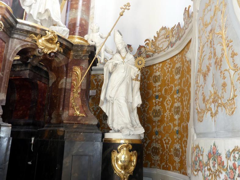 Ignaz Günther: Statue des heiligen Norbert am Hochaltar, 1765
