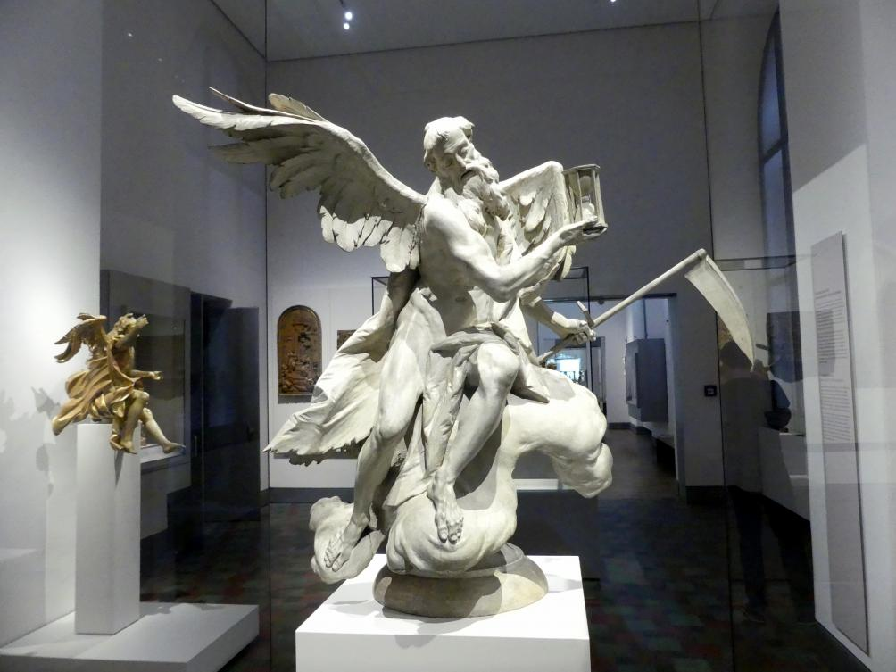 Ignaz Günther: Statuette des Chronos, 1765 - 1775