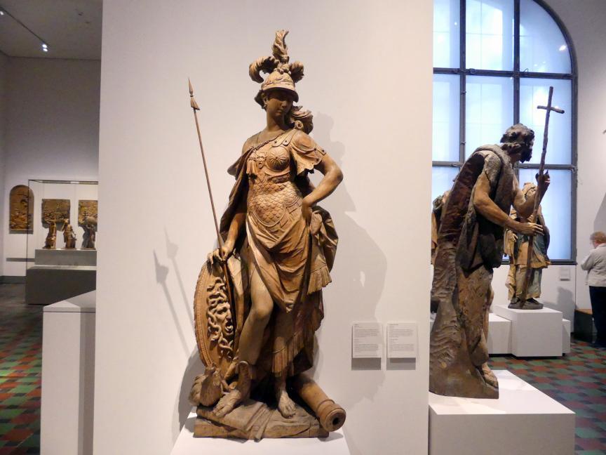 Ignaz Günther: Statue der Minerva aus dem Palais La Rosée in München, 1772