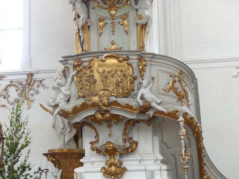 Johann Baptist Straub: Kanzel, 1738 - 1740