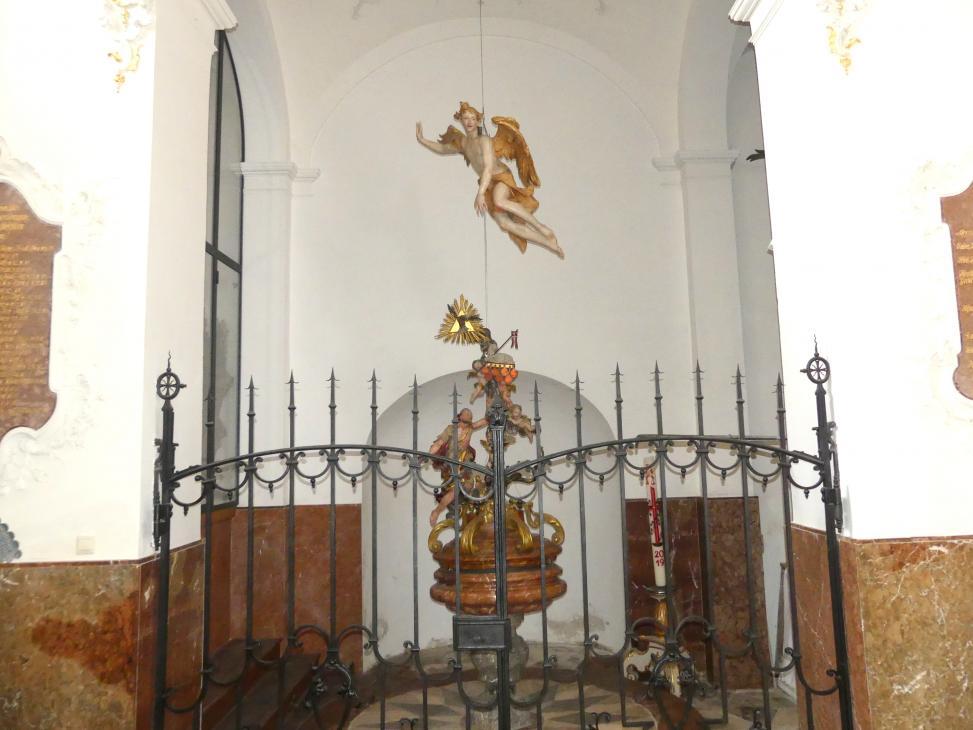 Johann Baptist Straub: Sogenannter Gloriaengel, 1740 - 1750