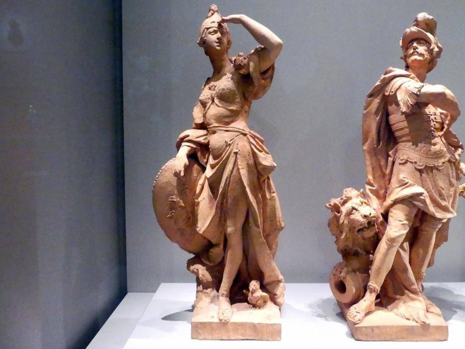Johann Baptist Straub: Minerva. Modello für die Figur in der Hauptpost., 1772