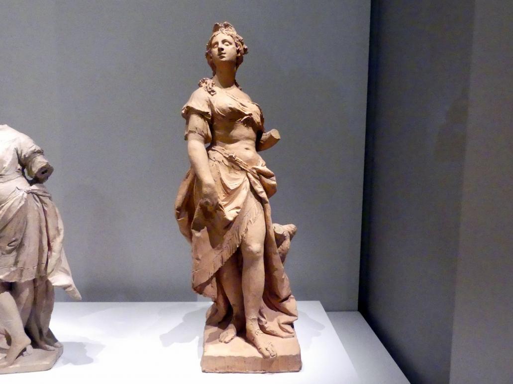 Johann Baptist Straub: Juno. Vermutlich Modello einer nicht ausgeführten Statue für den Nymphenburger Schlossgarten., 1766