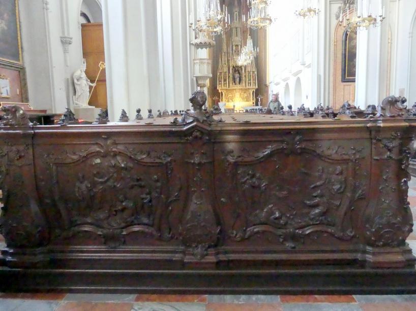 Johann Baptist Straub: Das Gestühl, 1730 - 1732, Bild 2/2
