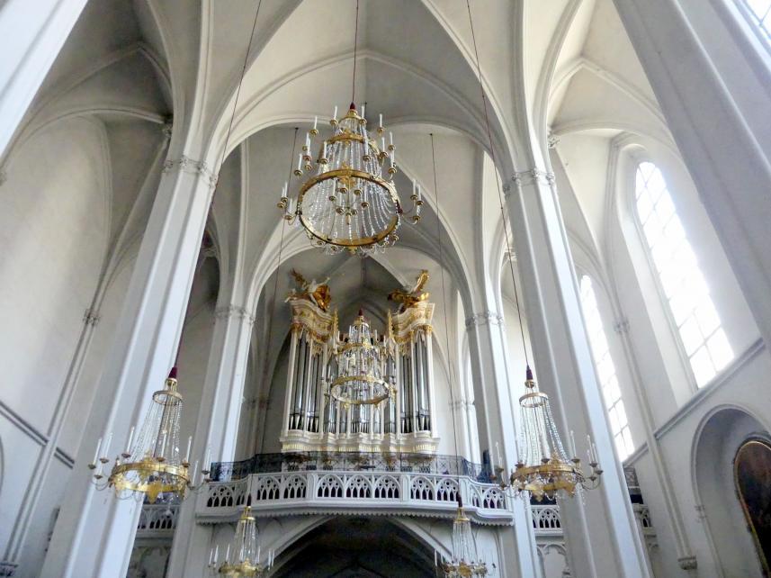 Johann Baptist Straub: Orgelbekrönung, 1730 - 1732