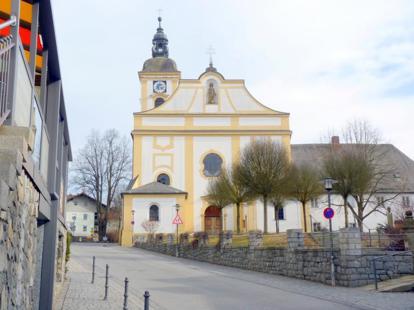 Johann Michael Fischer (Baumeister): Kirche der Propstei des Benediktinerklosters Niederalteich Rinchnach, 1727 - 1729