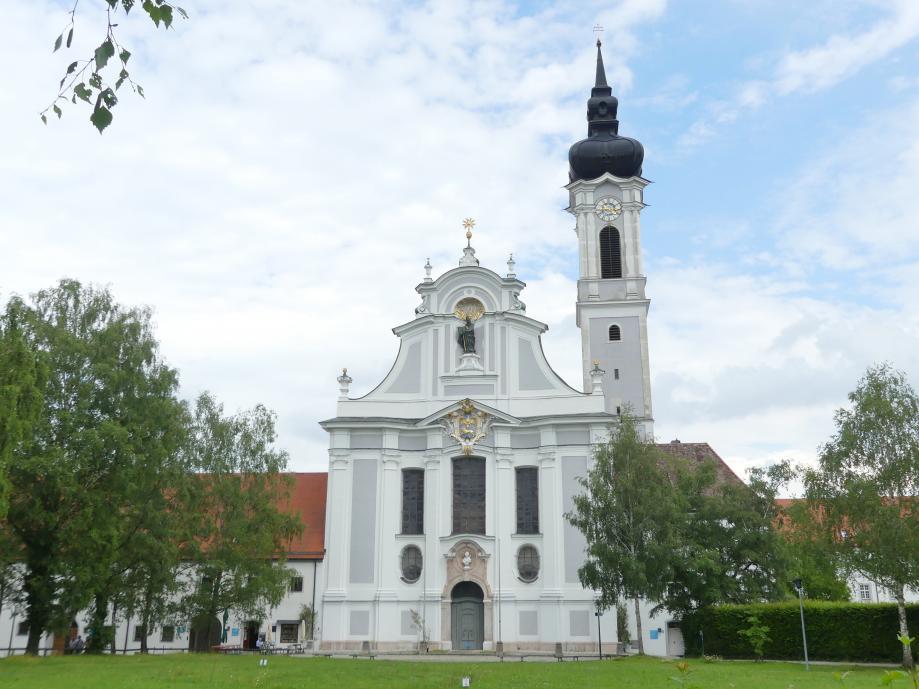 Johann Michael Fischer (Baumeister): Stiftskirche des Augustiner-Chorherrenstiftes, heute Marienmünster Mariä Himmelfahrt, Dießen am Ammersee, 1731 - 1736