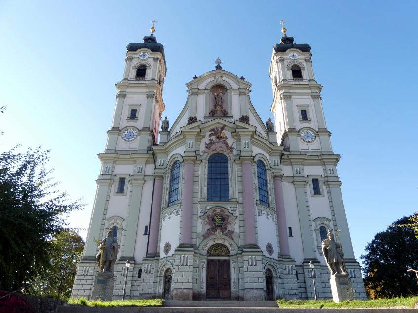 Johann Michael Fischer (Baumeister): Benediktiner-Abteikirche St. Alexander und St. Theodor Ottobeuren, 1748 - 1760, Bild 5/10