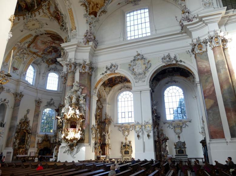 Johann Michael Fischer (Baumeister): Benediktiner-Abteikirche St. Alexander und St. Theodor Ottobeuren, 1748 - 1760, Bild 7/10
