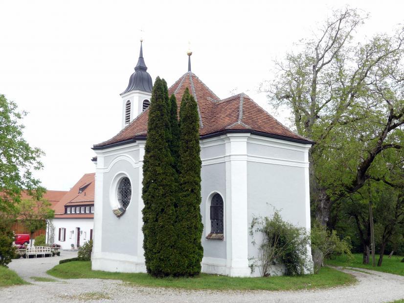 Johann Michael Fischer (Baumeister): St. Anna Kapelle auf Gut Romenthal, 1756 - 1757
