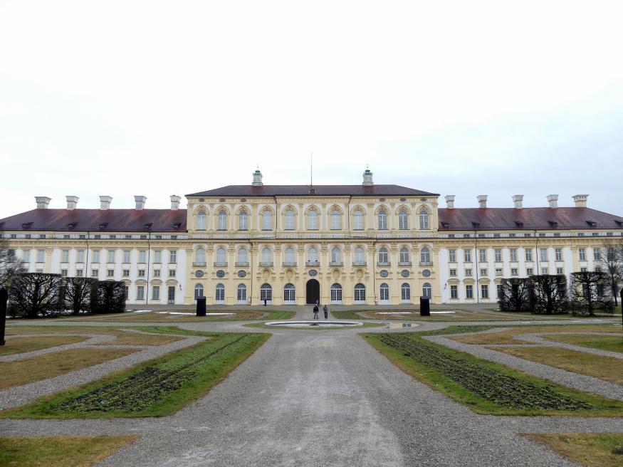 Enrico Zuccalli (Johann Heinrich Zuccalli): Neues Schloss Schleißheim, 1701 - 1704