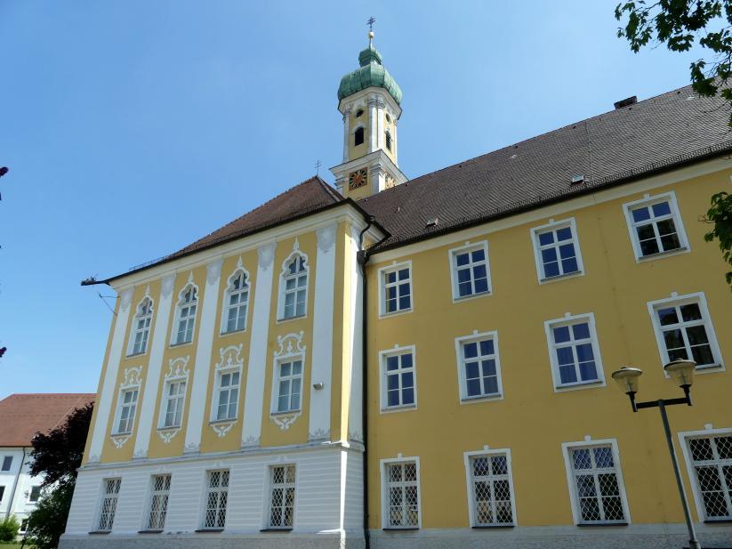 Dominikus Zimmermann: Klostergebäude, 1720 - 1725
