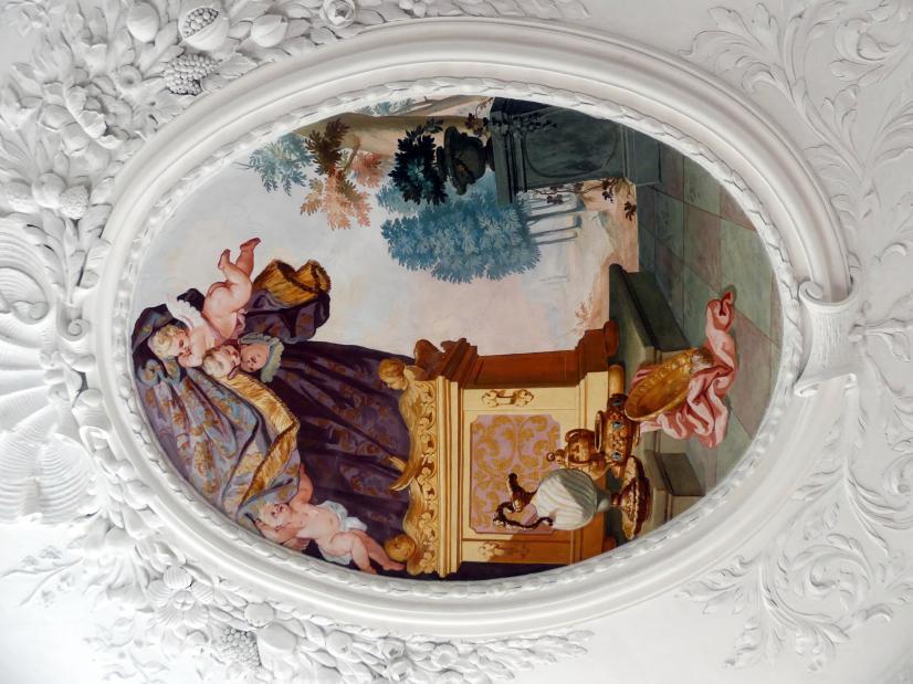 Johann Baptist Zimmermann: Fresken, 1710, Bild 2/8