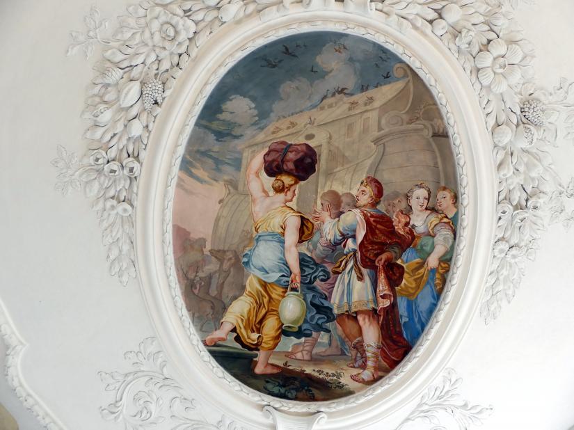 Johann Baptist Zimmermann: Fresken, 1710, Bild 3/8