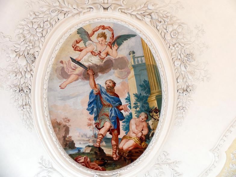 Johann Baptist Zimmermann: Fresken, 1710, Bild 4/8