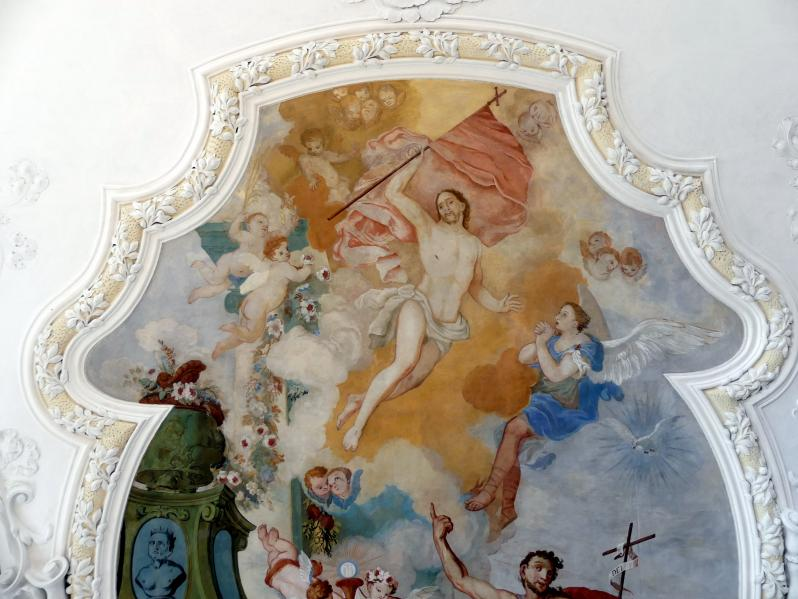 Johann Baptist Zimmermann: Fresken, 1710, Bild 6/8