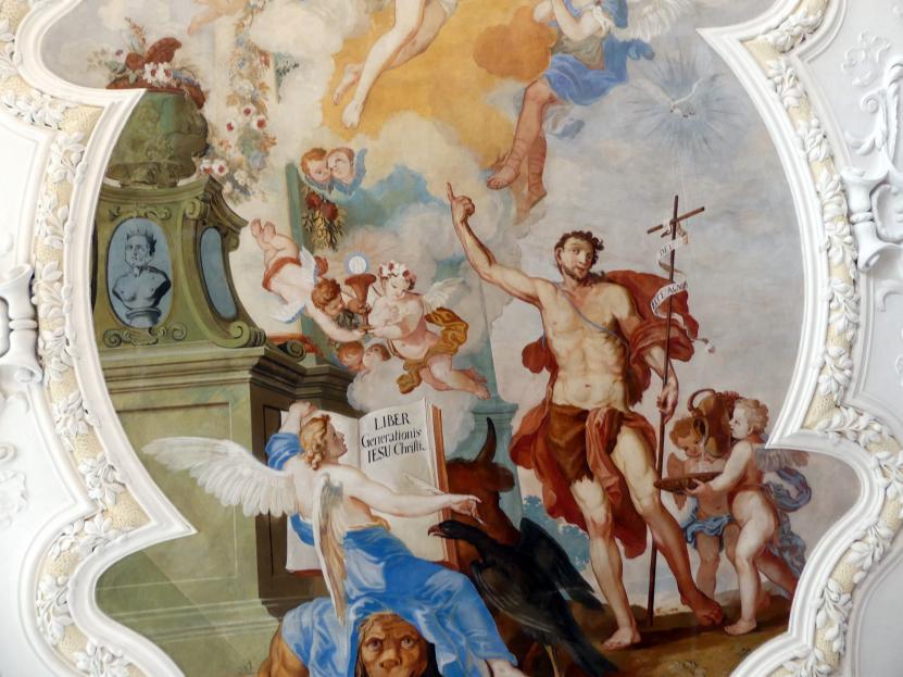 Johann Baptist Zimmermann: Fresken, 1710, Bild 7/8