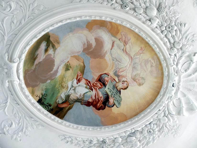 Johann Baptist Zimmermann: Stuck des Deckenspiegels, 1710, Bild 2/5