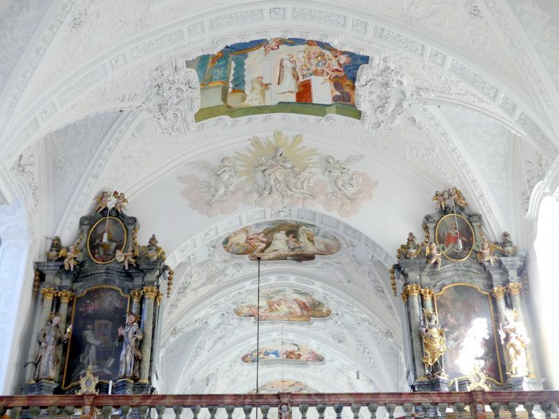 Johann Baptist Zimmermann: Stuck im Deckenbereich, 1711 - 1712