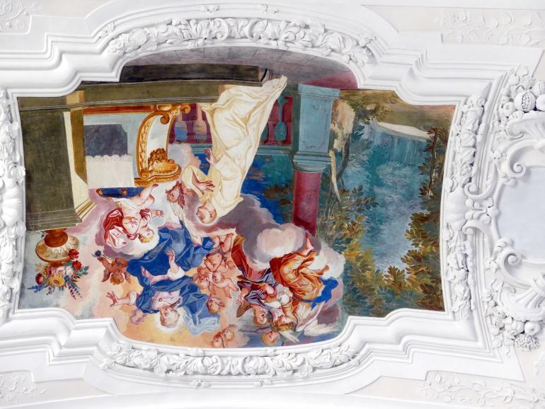 Johann Baptist Zimmermann: Fresken, 1711 - 1712