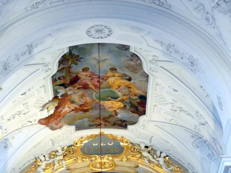 Johann Baptist Zimmermann: Fresken im Ostteil (1945 weitgehend zerstört), 1732