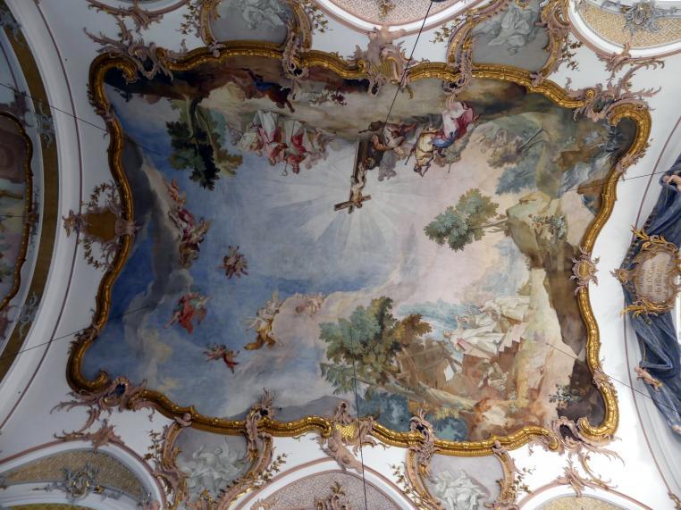 Johann Baptist Zimmermann: Fresken (großer Anteil von Gehilfenarbeit), 1756