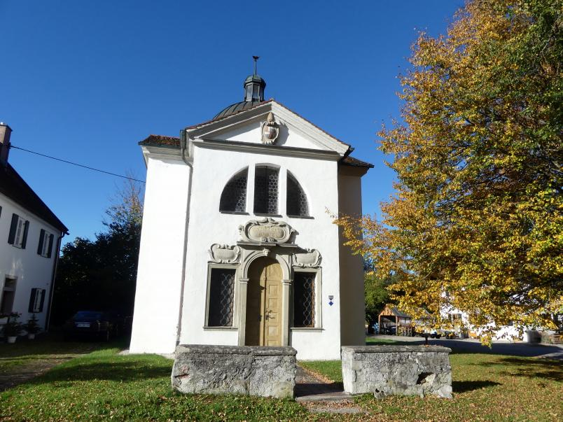 Johann Jakob Herkomer: Familienkapelle Herkomer Sieben Schmerzen Mariä und vom Hl. Grab, 1685 - 1686
