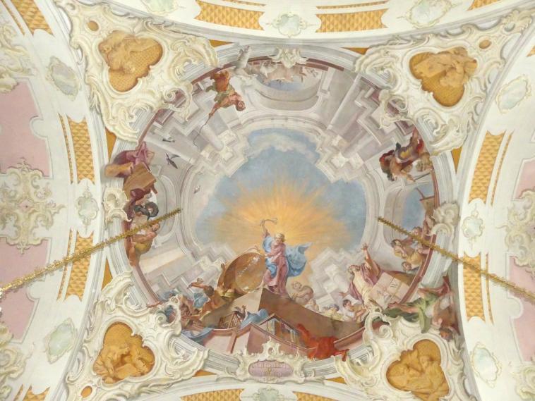 Matthäus Günther: Fresken, 1751