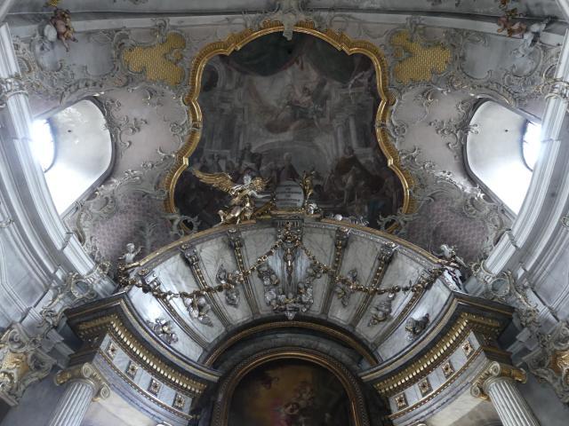 Matthäus Günther: Fresken in der Gnadenkapelle, 1786