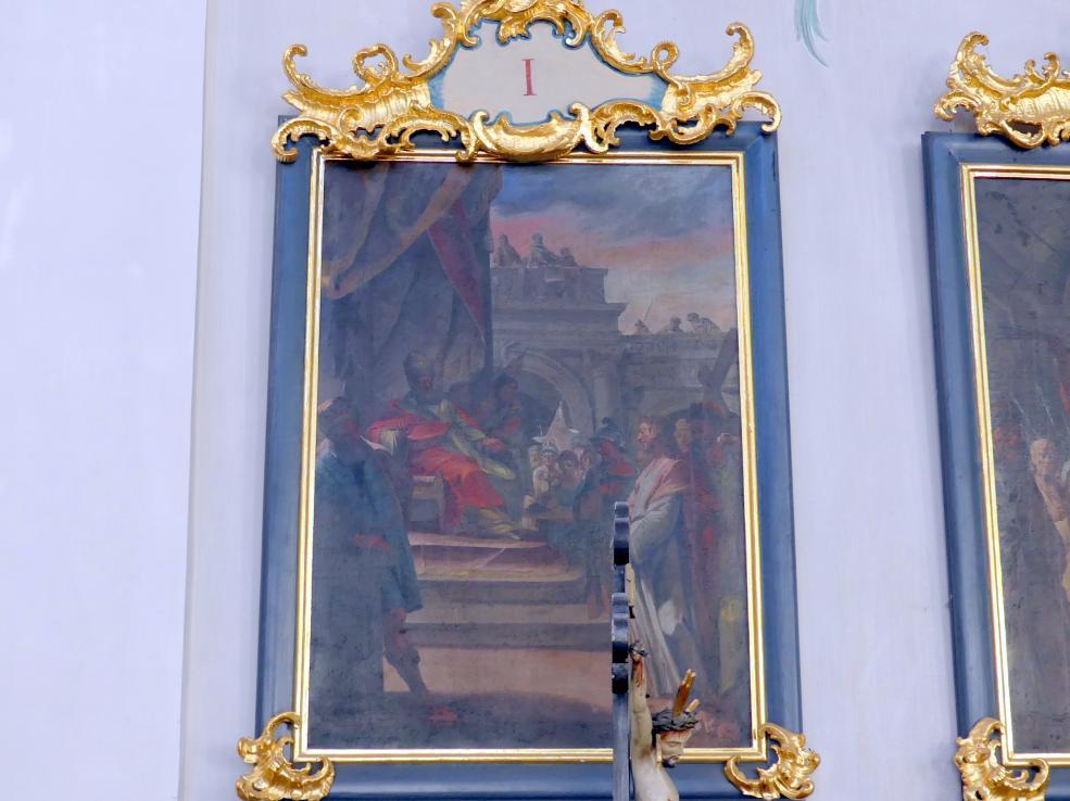 Matthäus Günther: Tafelbilder Vierzehn Kreuzwegstationen, 1765