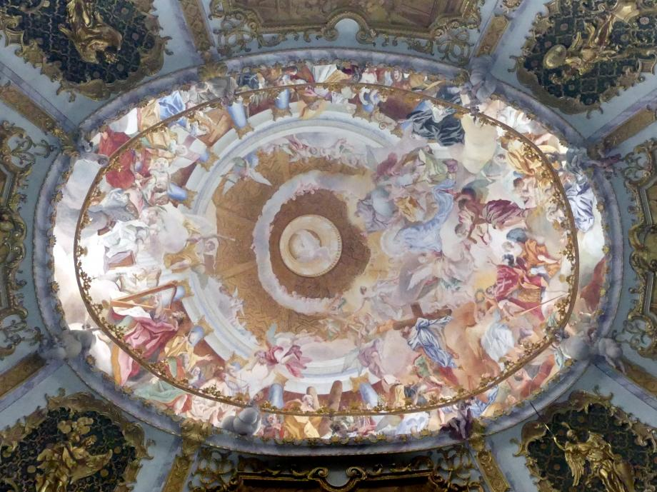 Cosmas Damian Asam: Deckenfresko über dem Ovalraum, 1721