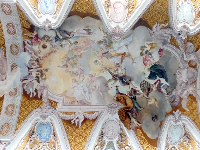 Cosmas Damian Asam: Umgestaltung, Ausmalung des Innenraumes, 1723 - 1724