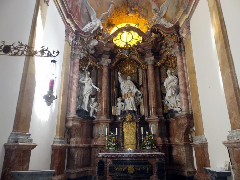 Egid Quirin Asam: Stuck in der Johanneskapelle, 1735 - 1738