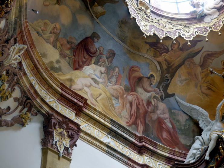 Cosmas Damian Asam: Fresko in der Johanneskapelle, 1735 - 1738