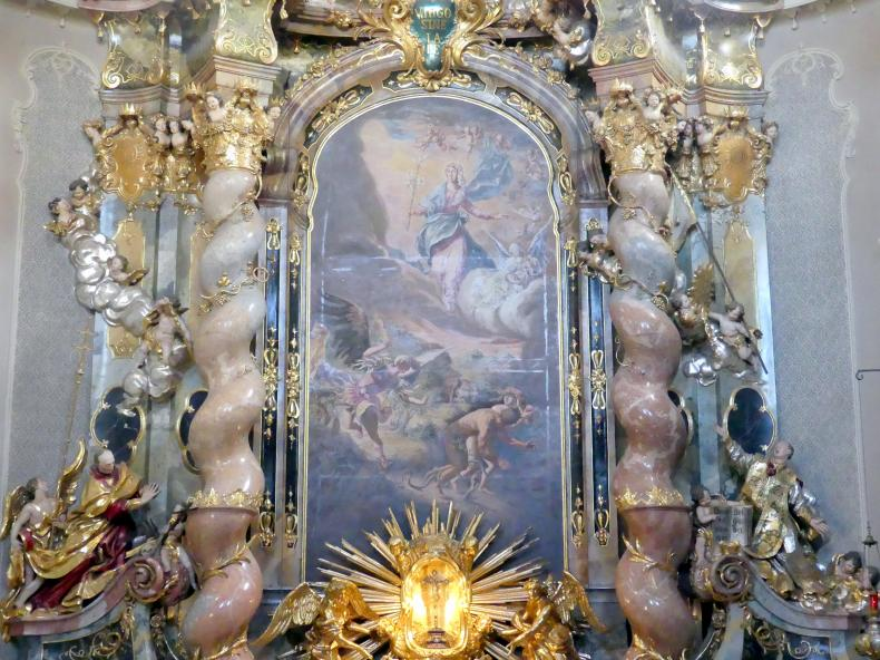 Cosmas Damian Asam: Drei Altarblätter, 1738 - 1739