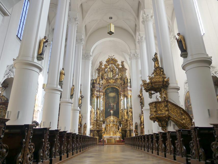 Wolfgang Dientzenhofer: Umbau (Barockisierung) der Klosterkirche, 1700 - 1702
