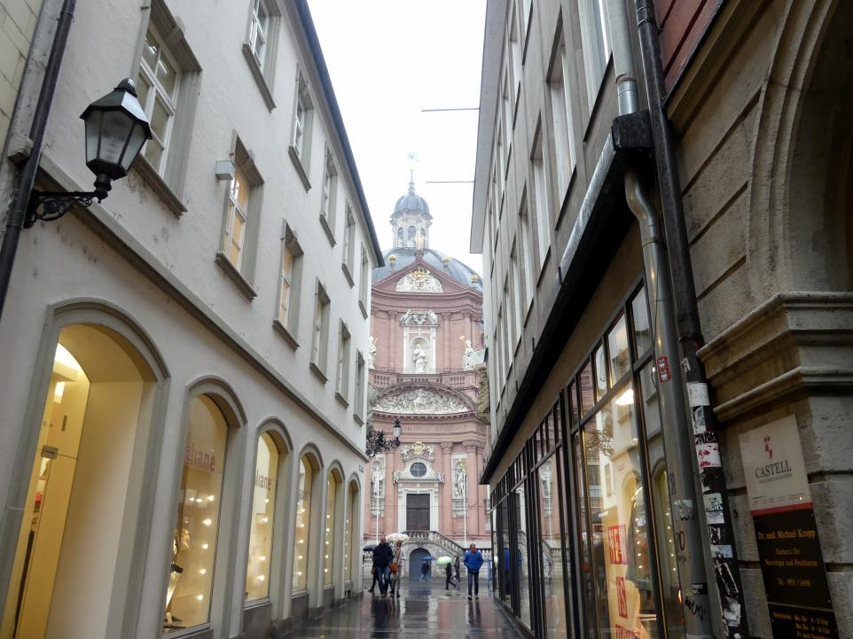 Johann Dientzenhofer: Fassade des Stifts Neumünster, 1711 - 1716