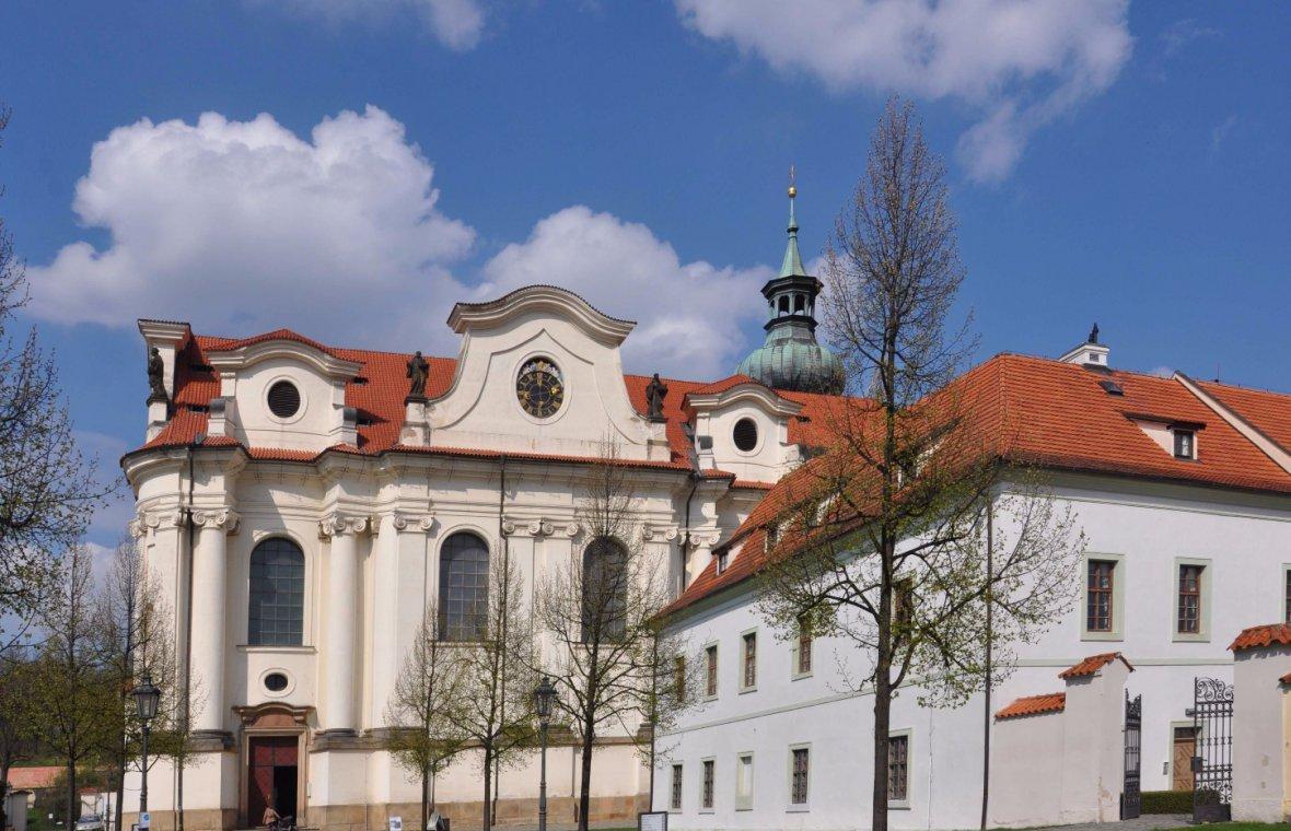 Christoph Dientzenhofer: Bau der Klosterkirche St. Margareta, 1709 - 1722